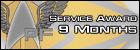 Service Citation (9 Months)